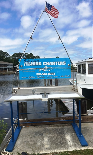 Cleaning station 1 gulf coast fishing charters for Gulf shores fishing charter rates